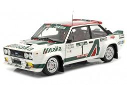 FIAT 131 Abarth Rally Portugal 1978 S. Munari / P. Sodano - Kyosho Escala 1:18 (08376B)