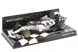 ALPHA TAURI AT01 Formula 1 2020 Daniil Kvyat - Minichamps Escala 1:43 (417200026)