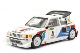 PEUGEOT 205 T16 Rally MonteCarlo 1986 Kankkunen / Piironen - Ixo Scale 1:18 (18RMC049B)
