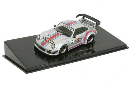 PORSCHE 911 (930) RWB 1973 Martini Silver - Ixo Models Escala 1:43 (MOC206)