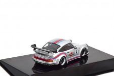 PORSCHE 911 (930) RWB Martini Silver - Ixo Models Escala 1:43 (MOC206)