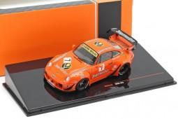 PORSCHE 911 (993) RWB 1973 Jagermeister - Ixo Models Escala 1:43 (MOC210)