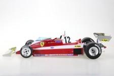 FERRARI 312T3 Formula 1 1978 Gilles Villeneuve - GP Replicas Escala 1:18 (GP37B)
