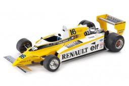 RENAULT RE20 Turbo Formula 1980 Rene Arnoux - GP Replicas Escala 1:18 (GP53A)