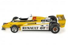 RENAULT RE20 Fromula 1 1980 J.P. Jabouille - GP Replicas Escala 1:18 (GP53B)