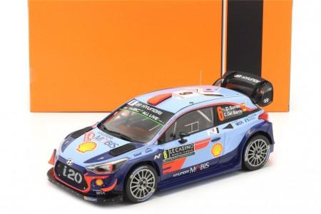 HYUNDAI ix20 WRC Rally Montecarlo 2018 D. Sordo / C. Del Barrio - Ixo Escala 1:18 (18RMC030C)