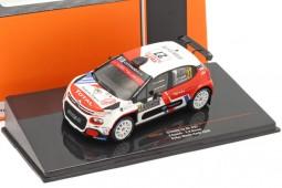 CITROEN C3 R5 Rally Montecarlo 2020 E. Camilli / F-X. Buresi - Ixo Scale 1:43 (RAM747)