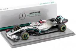 MERCEDES AMG W11 Test Barcelona Camepon del Mundo F1 2020 L. Hamilton - Spark Escala 1:43 (s6450)