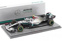 MERCEDES AMG W11 Formula 1 2020 V. Bottas - Spark Escala 1:43 (s6451)