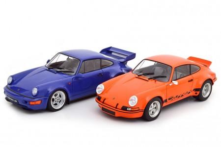 SET Porsche 911 Carrera RSR - Porsche 911 Carrera RS 964 - Solido Escala 1:18 (S180004)