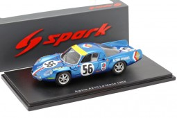Renault ALPINE A210 24h LeMans 1968 Marnant / Gerbault - Spark Scale 1:43 (s5474)