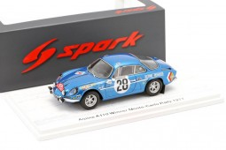 Renault ALPINE A110 Winner Rally Montecarlo 1971 O. Andersson / D. Stone - Spark Scale 1:43 (s6104)