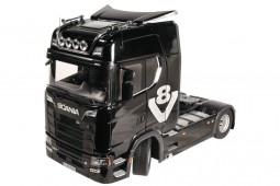 SCANIA V8 730S 4x2 Black - NZG Scale 1:18 (1019/51)