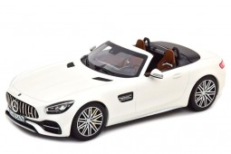 MERCEDES-Benz GT-C AMG Roadster 2019 White Metallic - Norev Scale 1:18 (183744)