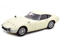 TOYOTA 2000GT Coupe Spoke Rims 1965 White - AutoArt Escala 1:18 (78754)