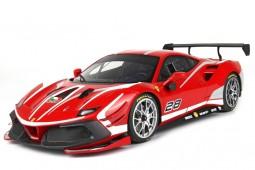 FERRARI 488 Challenge Evo 2020 Rosso Corsa - BBR Models Escala 1:18 (P18186)