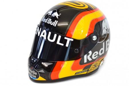 CASCO SCHUBERTH Carlos Sainz Jr Renault R.S. 18 2018 - Schuberth Escala 1:2 (1050001051)