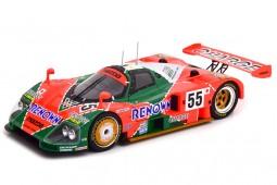 MAZDA 787B Ganador 24h Le Mans 1991 Weidler / Herbert / Gachot - CMR Escala 1:18 (CMR175)