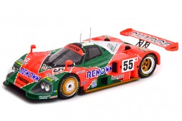 MAZDA 787B Ganador 24h Le Mans 1991 Weidler / Herbert / Gachot - CMR Scale 1:18 (CMR175)