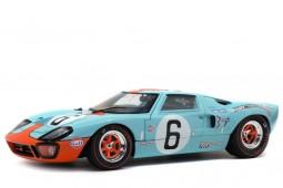 FORD GT40 MK1 Ganador 24h LeMans 1969 J. Ickx / J. Oliver - Solido Escala 1:18 (S1803003)