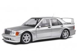 MERCEDES-Benz 190E Evo II (W201) 1990 Silver - Solido Escala 1:18 (S1801005)