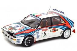 LANCIA Delta HF Integrale Ganador Rally San Remo 1992 Aghini / Farnocchia - Kyosho Escala 1:18 (08348B)