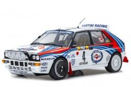 LANCIA Delta HF Integrale Evo Ganador Rally MonteCarlo 1992 D. Auriol / B. Occelli - Kyosho Escala 1:18 (08348A)