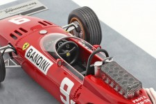 FERRARI 312 V12 GP F1 Alemania 1966 Lorenzo Bandini - Tecnomodel Escala 1:18 (TM18163B)