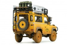 LAND ROVER 90 Camel Trophy Borneo 1985 Dirty - Almost Real Escala 1:18 (ALM810212)