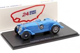 DELAHAYE 135 CS Winner 24h LeMans 1938 Chaboud / Tremoulet - Spark Scale 1:43 (43LM38)
