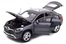 MERCEDES-Benz GLE Coupe 2015 Grey Metallic - Norev Escala 1:18 (183790)