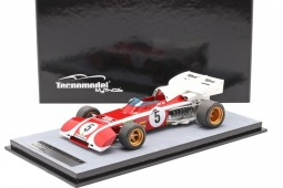 FERRARI 312B2 GP F1 South Africa 1972 J. Ickx - Tecnomodel Escala 1:18 (TM18149D)