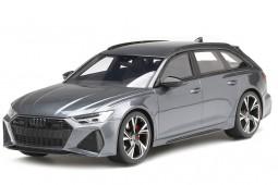 AUDI RS6 Avant (C8) Carbon Black Edition 2020 Daytona Grey - Top Speed Escala 1:18 (TS0316)