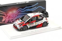 TOYOTA Yaris WRC Ganador Rally Sweden 2020 E. Evans / S. Martin - Spark Escala 1:43 (s6568)