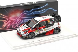 TOYOTA Yaris WRC Winner Rally Sweden 2020 E. Evans / S. Martin - Spark Scale 1:43 (s6568)