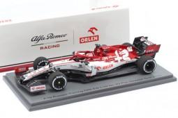 ALFA ROMEO C39 Ferrari Formula 1 2020 Antonio Giovinazzi - Spark Escala 1:43 (s6453)