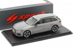 AUDI RS4 2018 Nardo Grey - Spark Escala 1:43 (s7832)