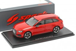 AUDI RS4 2018 Misano Red - Spark Escala 1:43 (s7833)