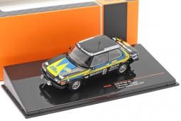 SAAB 99 EMS Rally Sweeden 1977 Blomqvist / Sylvan - Ixo Models Escala 1:43 (RAC299)