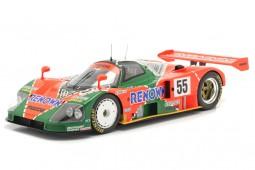 MAZDA 787B Ganador 24h Le Mans 1991 Weidler / Herbert / Gachot - Spark Escala 1:18 (18LM91)