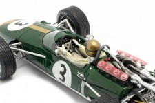 BRABHAM BT24 Ganador GP Francia 1967 Jack Brabham - Spark Escala 1:18 (18s503)