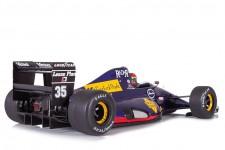 LAMBORGHINI 291 GP F1 San Marino 1991 Van De Poele - Con Vitrina - Looksmart Escala 1:18 (LS18LF01C)