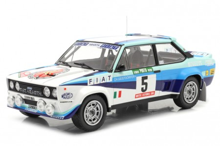 FIAT 131 Abarth Rally Portugal 1980 W. Rohrl / C. Geistdorfer - Ixo Escala 1:18 (18RMC053B)