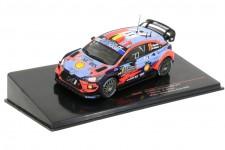 HYUNDAI i20 Ganador Rally Monte Carlo 2020 T. Neuville / N. Gilsoul - Ixo Escala 1:43 (RAM743)