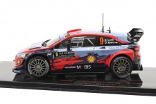 HYUNDAI i20 Rally Monte Carlo 2020 S. Loeb / D. Elena - Ixo Escala 1:43 (RAM744)