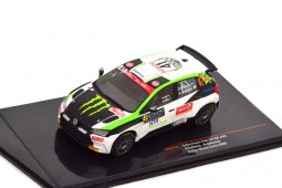 VOLKSWAGEN Polo GTI R5 Rally Mone Carlo 2020 O. Solberg / A. Johnston - Ixo Scale 1:43 (RAM751)