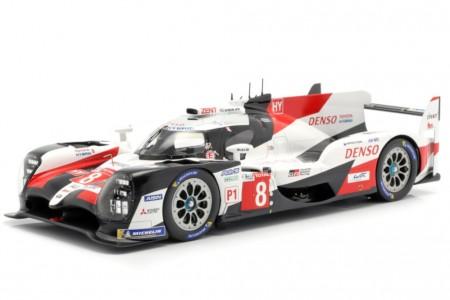 TOYOTA TS050 Ganador 24h Le Mans 2019 Buemi / Nakajima / Alonso - Spark Escala 1:18 (18LM19)