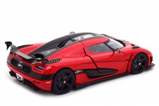 KOENIGSEGG Agra RS 2015 Chili Red / Carbon - AutoArt Escala 1:18 (79022)