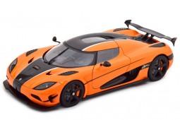 KOENIGSEGG Agera RS 2015 Orange / Carbon - AutoArt Escala 1:18 (79023)