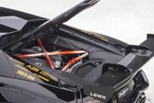 LAMBORGHINI Aventador LB-Works 2018 Black / Golden - AutoArt Escala 1:18 (79184)